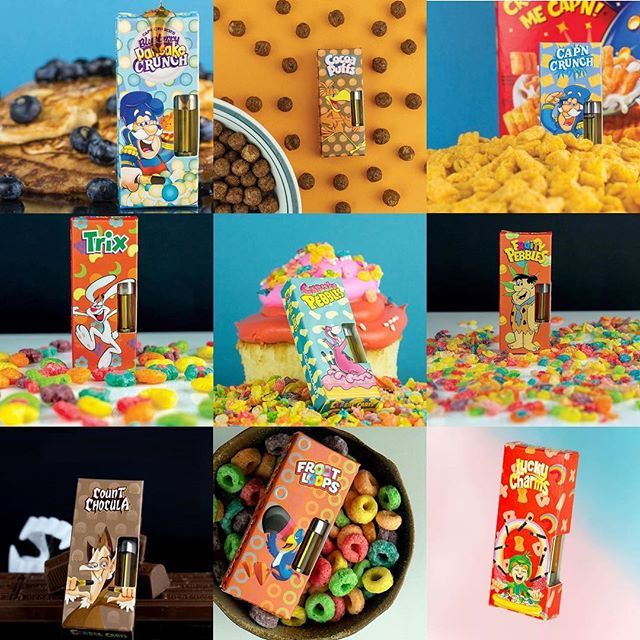 Cereal Carts